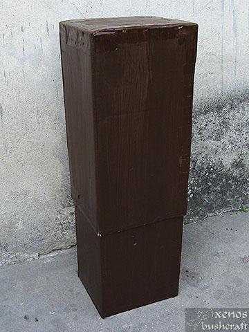 Кутия за стрели - В затворен вид