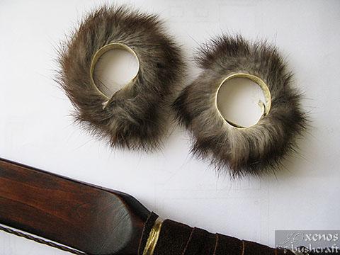 Заглушители за лък - Лентичките заешка кожа