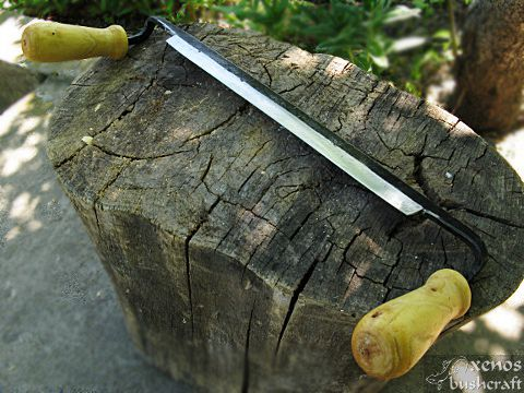 Новият ми рукан (draw knife)