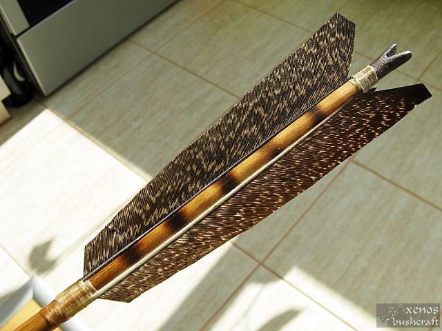 Индианска стрела No.4 - Оперение