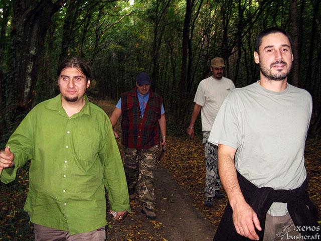 Лагер-сбор - Шуменско плато - 24-26.09.2010 - Връщане от спасителна акция :)