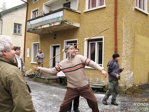 Среща на Кръстец - 22-23.01.2011 - Показно с атлатъл