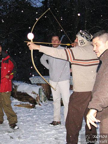 Среща на Кръстец - 22-23.01.2011 - Пробна стрелба