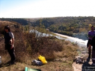 Среща на Басарбово - 22-24.10.2010 - Горе на скалите
