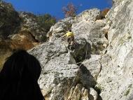Среща на Басарбово - 22-24.10.2010 - Владо на скалите