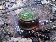 Среща на Басарбово - 22-24.10.2010 - Зеленчукова супа