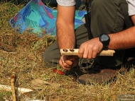 Лагер-сбор - Шуменско плато - 24-26.09.2010 - Bow Drill