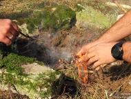Лагер-сбор - Шуменско плато - 24-26.09.2010 - Разпалване