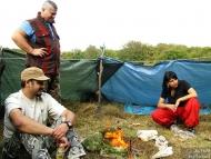 Лагер-сбор - Шуменско плато - 24-26.09.2010 - Огънят
