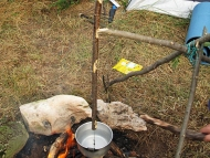 Лагер-сбор - Шуменско плато - 24-26.09.2010 - Окачване