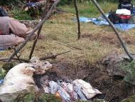 Лагер-сбор - Шуменско плато - 24-26.09.2010 - Банок на камък