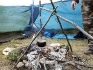 Лагер-сбор - Шуменско плато - 24-26.09.2010 - Готвене