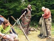 Лагер-сбор - Шуменско плато - 24-26.09.2010 - Пончо
