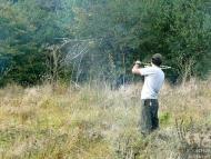 Лагер-сбор - Шуменско плато - 24-26.09.2010 - Хвърляне с атлатъл