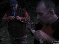Лагер-сбор - Шуменско плато - 24-26.09.2010 - Дълбаене с въглен