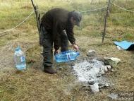 Лагер-сбор - Шуменско плато - 24-26.09.2010 - Загасяне
