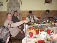 Среща на Кръстец - 22-23.01.2011 - Вечеря