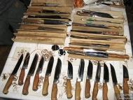 Среща на Кръстец - 22-23.01.2011 - Много малка част от ножовете