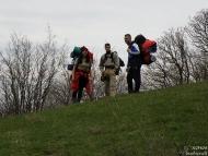 Среща на Мадарското плато - 16-17.04.2011 - Някъде горе