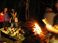 Среща на Мадарското плато - 16-17.04.2011 - Нощем край огъня