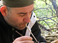 Среща на Мадарското плато - 16-17.04.2011 - Дълбаене с въглен