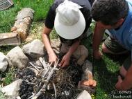 Среща на Осогово - 04-06.06.2011 - Запалване на лагерния огън