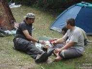 Среща на Пирин - 04-06.09.2011 - Похапване