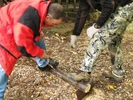 Странджа - 15-17.10.2011- Рязане на дърва