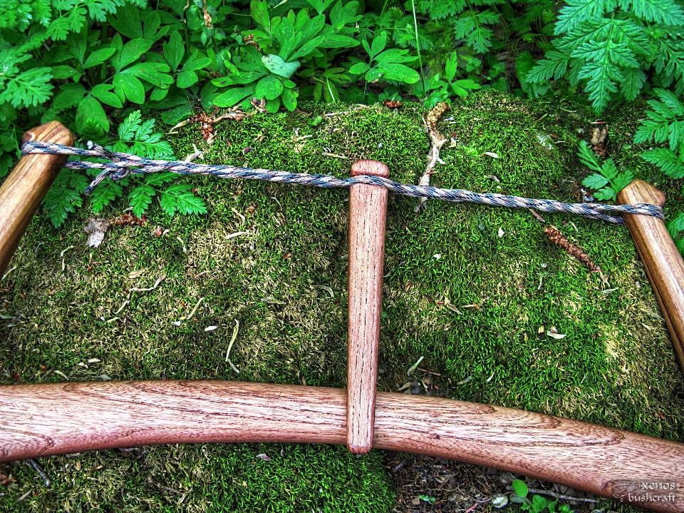Дъговиден трион (джага, бичкия) - Летвичката за натягане