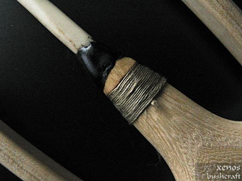 Първи лайстър - Залепяне и намотки на централния шип