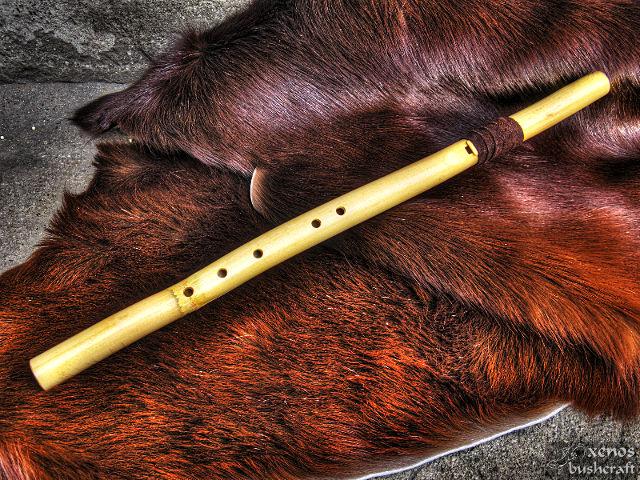 Традиционна индианска флейта