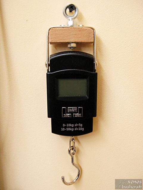 Дърво за тилеринг - Ръчен кантар за измерване на силата на опън