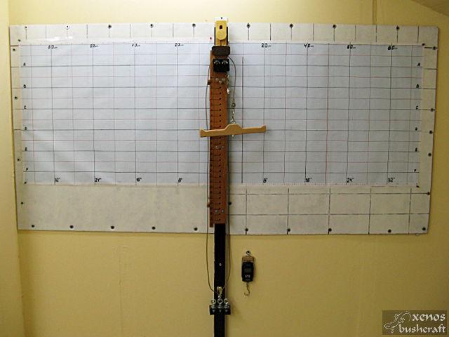 Дърво за тилеринг - Завършен вид със разграфеното табло