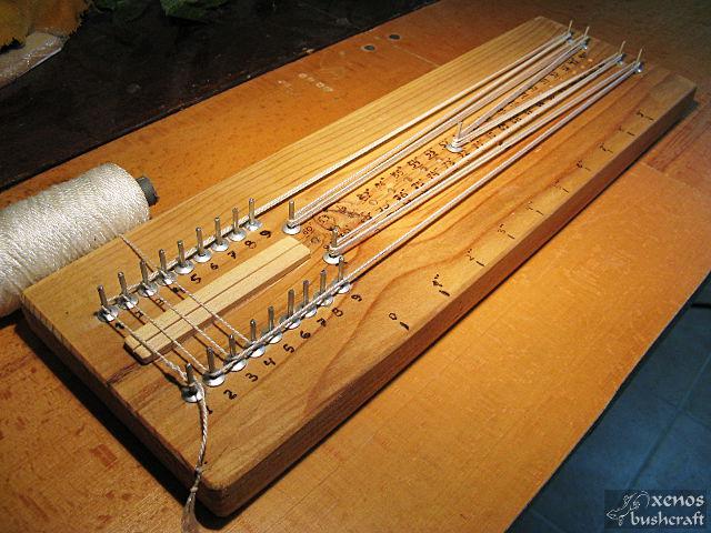 Компактен станок за плетене на тетива - Намотаване на влакното