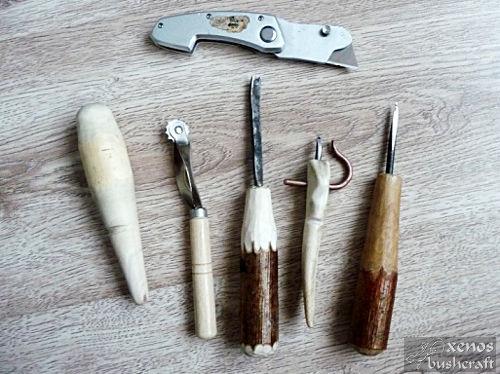 Кожена кания за нож