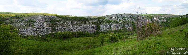 "Природен парк ""Русенски лом"", близо до с. Червен."