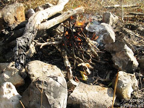 Шуменско плато - 01.11.2011 - Огънче
