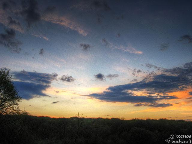 Фотоотчет - Шуменско плато - 7.04.2012 - Вечерни облаци