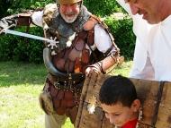 Дни на предците - Плиска, 2014 - Наказание за непослушни...