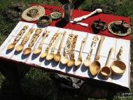 Дни на предците - Плиска, 2014 - Дървени лъжици