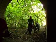 Бисерна - Пред входа