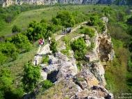 Ивановски скални църкви - Пътеката