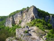 Ивановски скални църкви - Скалният масив