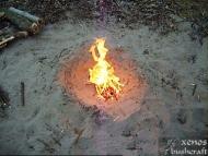 Little Island Survival - Огнището