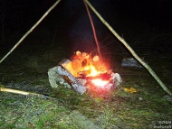 Огнището е готово - Орлова чука, 29-30.12.2009