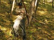 Шуменско плато - 01.11.2011 - Стрелба с лък