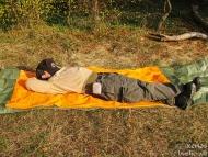 Шуменско плато - 01.11.2011 - Следобедна дрямка