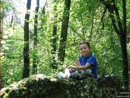 На сянка върху мъхестия камък - Фотоотчет - 08.09.2010 - Шуменско плато 5/8