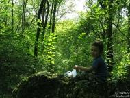 На сянка върху мъхестия камък - Фотоотчет - 08.09.2010 - Шуменско плато 6/8