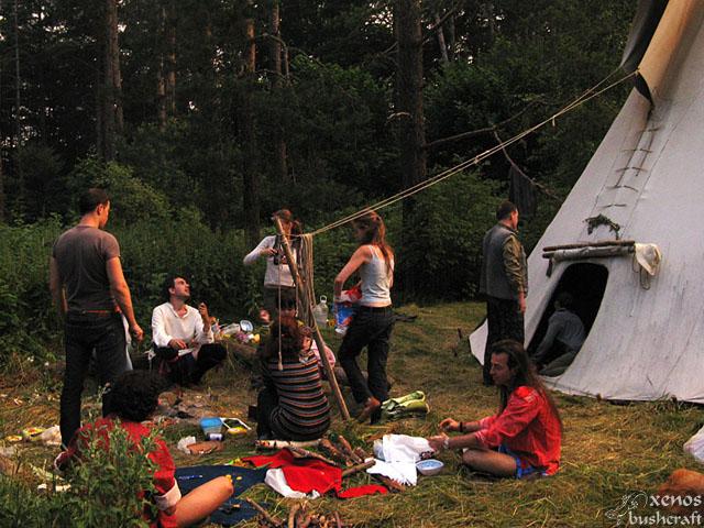 Вечерна светлина - Pow-Wow 2010, Витоша, 23-25.07